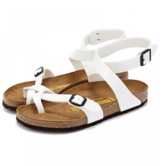 fed87445f08 Birkenstock Shoes - Birkenstock white patent yara 38 N New